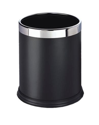 酒店塑料烤漆垃圾桶单/双层