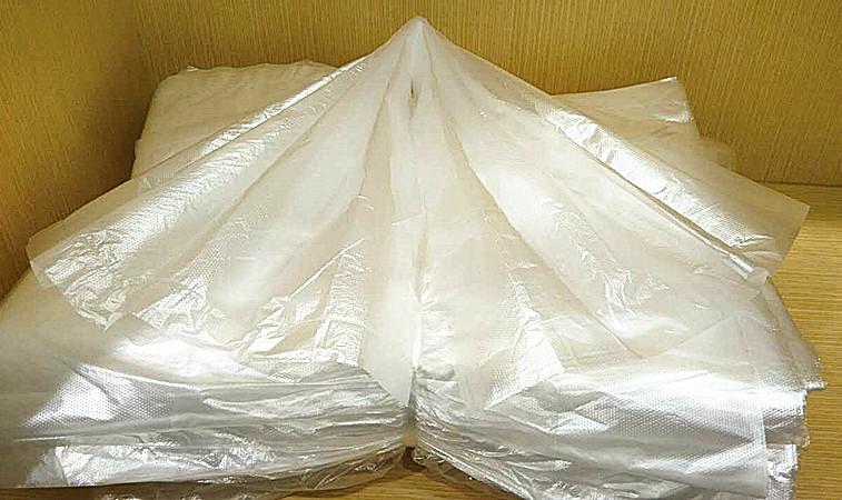 宾馆白色小垃圾袋
